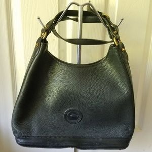 Vintage Dooney & Bourke Black Crossbody Bag
